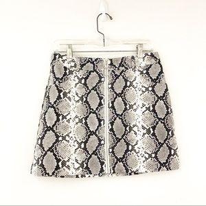 Wild Honey Snakeskin Skirt (A4)